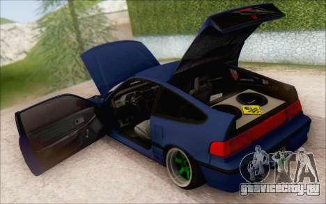 Honda CRX Türkiye для GTA San Andreas вид сзади слева