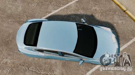 Tesla Model S для GTA 4 вид справа
