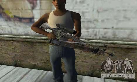 Арбалет из Battlefield 4 для GTA San Andreas третий скриншот