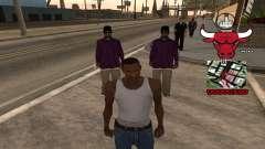 C-HUD Chicago Bulls для GTA San Andreas