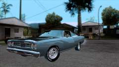 Plymouth Road RunneR 1969 для GTA San Andreas
