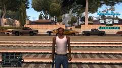 C-HUD RJ Aztecaz для GTA San Andreas