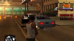 C-HUD Admins Team для GTA San Andreas