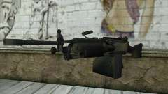 M249 SAW Machine Gun для GTA San Andreas
