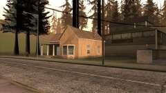 Новый дом Сиджея в Angel Pine