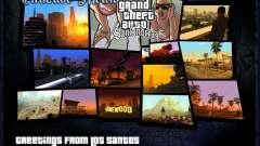 HD меню V.2.0 для GTA San Andreas