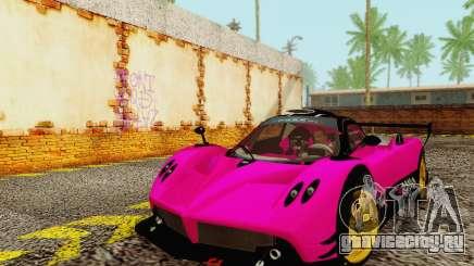 Pagani Zonda Type R Pink для GTA San Andreas