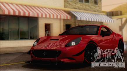 Ferrari California v2 для GTA San Andreas