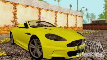 Aston Martin DBS Volante для GTA San Andreas