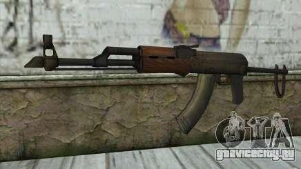AKM Assault Rifle для GTA San Andreas