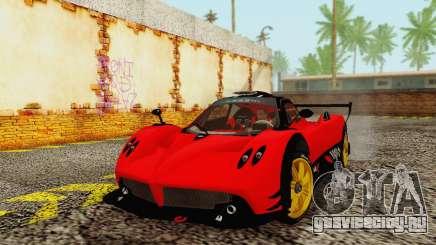 Pagani Zonda Type R Red для GTA San Andreas