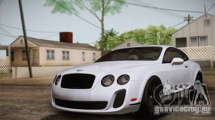 Bentley Continental SuperSports 2010 v2 Finale для GTA San Andreas