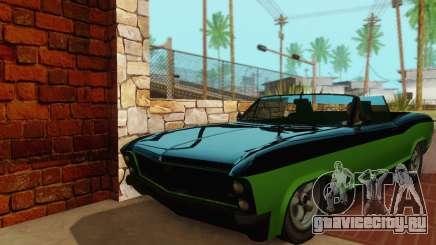 Gta 5 Buccaneer обновленная для GTA San Andreas