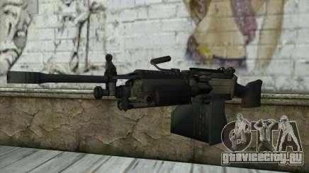 M249 SAW Machine Gun для GTA San Andreas