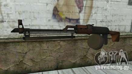 RPK Machine Gun для GTA San Andreas