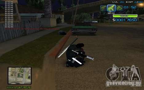 C-HUD by nayshnik для GTA San Andreas