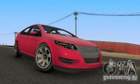 Cheval Surge V1.0 для GTA San Andreas вид справа