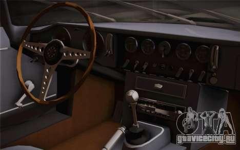 Jaguar E-Type 4.2 для GTA San Andreas вид справа