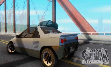 Mazda Autozam AZ-1 для GTA San Andreas вид справа