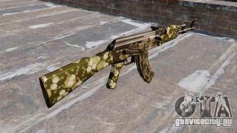 Автомат АК-47 Hex для GTA 4 второй скриншот