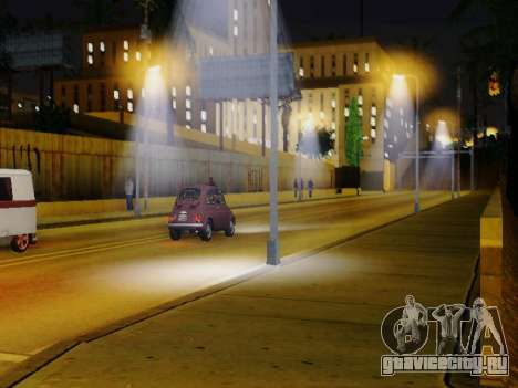 Improved Lamppost Lights v2 для GTA San Andreas второй скриншот