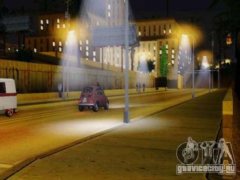 Improved Lamppost Lights v2 для GTA San Andreas второй скриншот