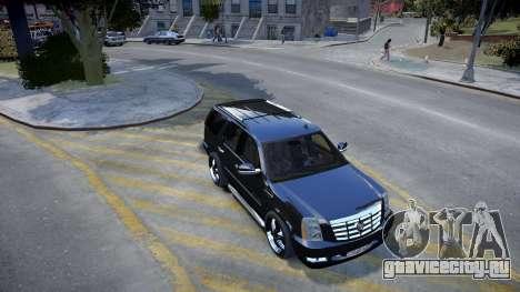 Cadillac Escalade для GTA 4 вид слева