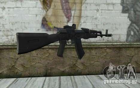 AK74M для GTA San Andreas второй скриншот