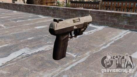 Пистолет FN Five-seveN LAM ACU Camo для GTA 4 второй скриншот