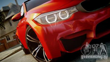 BMW M4 Coupe 2014 v1.0 для GTA 4 вид справа