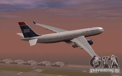 Airbus A330-300 для GTA San Andreas вид слева