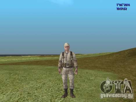 Afghanistan Soviet Soldiers для GTA San Andreas десятый скриншот