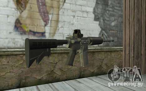M4A1 Holosight для GTA San Andreas второй скриншот