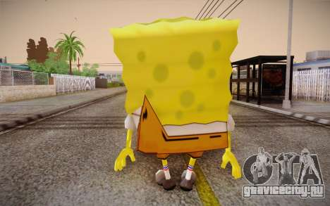 Губка Боб для GTA San Andreas второй скриншот