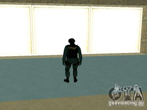 Скин СОБРа для GTA San Andreas второй скриншот