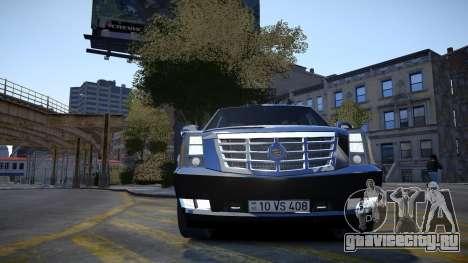 Cadillac Escalade для GTA 4 вид сбоку
