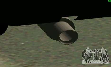 ВАЗ 2108 Turbo для GTA San Andreas вид изнутри