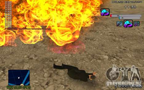 C-HUD Color для GTA San Andreas второй скриншот