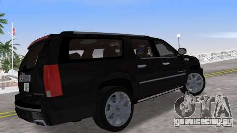 Cadillac Escalade ESV Luxury 2012 для GTA Vice City вид слева