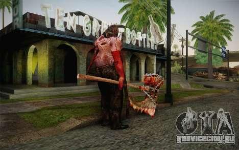 Палач (Resident Evil 5) для GTA San Andreas второй скриншот
