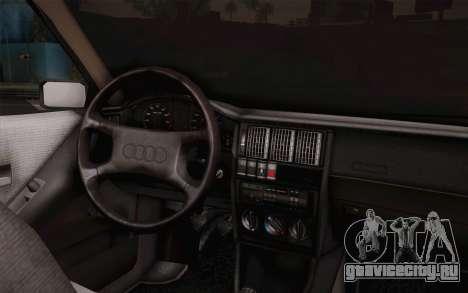 Audi 80 B3 v1.0 для GTA San Andreas вид сзади слева