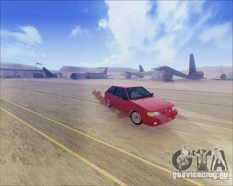 ВАЗ 2112 Tuneable для GTA San Andreas вид слева