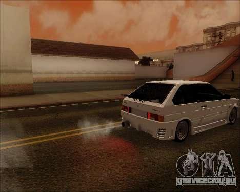 ВАЗ 2112 Tuneable для GTA San Andreas вид сверху