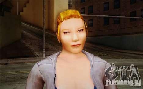 Woman Autoracer from FlatOut v2 для GTA San Andreas третий скриншот