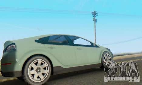 Cheval Surge V1.0 для GTA San Andreas вид сзади