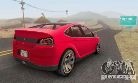 Cheval Surge V1.0 для GTA San Andreas вид слева