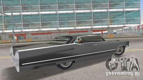 Cadillac DeVille 1967 Lowrider для GTA Vice City вид слева
