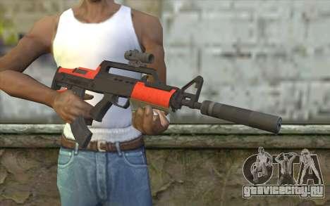 BullPup Rifle из GTA 5 для GTA San Andreas третий скриншот