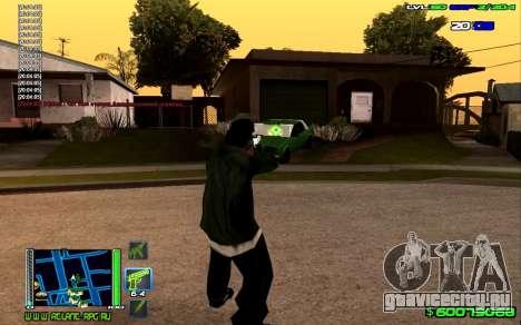 C-HUD Optimal для GTA San Andreas второй скриншот