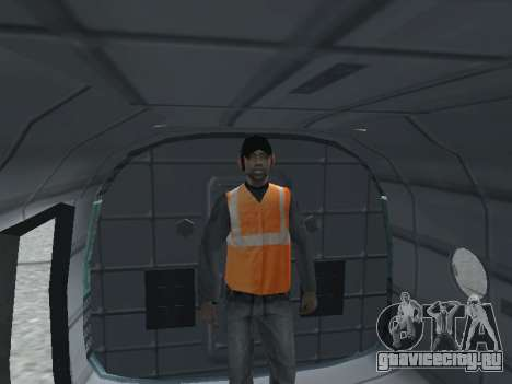 Ми-8Т для GTA San Andreas вид сзади